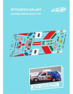 Mitsubishi Galant Salonen Montecarlo 1992