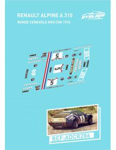 Renault Alpine A310 Ronde Cenevole Mouton 1976