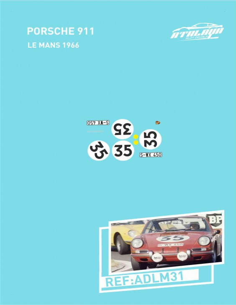 Porsche 911 Le Mans 1966