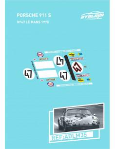 Porsche 911 S Nº47 Le Mans 1970