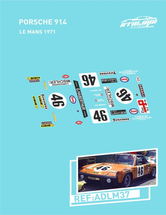 Porsche 914 Le Mans 1971