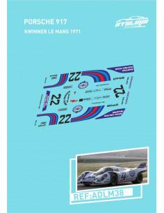 Porsche 917 Kwinner Le Mans 1971