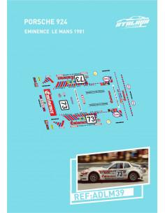 Porsche 924 Eminence Le Mans 1981