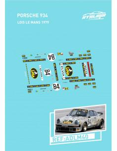 Porsche 934 Lois LeMans 1979