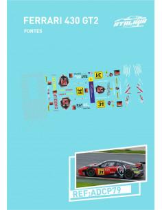 Ferrari 430 GT2 Fontes