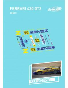 Ferrari 430 GT2 Zener