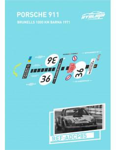 Porsche 911 Brunells 1000 km Barna 1971