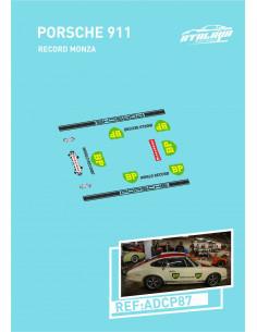 Porsche 911 Record Monza