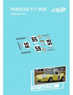 Porsche 911 RSR Sebring 1973