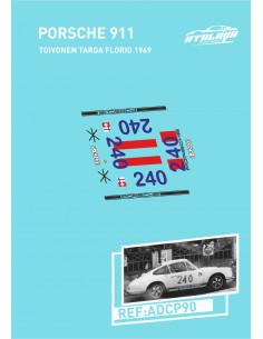Porsche 911 Toivonen Targa Florio 1969