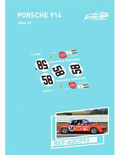 Porsche 914 Imsa GT