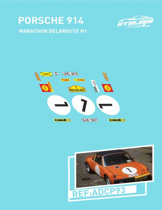 Porsche 914 Marathondelaroute N#1