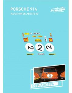 Porsche 914 Marathondelaroute N2