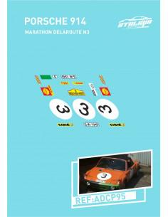 Porsche 914 Marathondelaroute N3