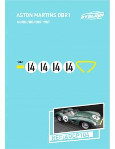 Aston Martin DBR1 Nurburgring 1957