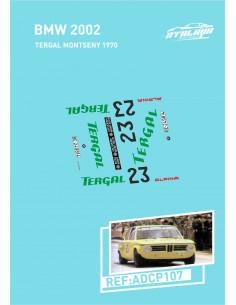 BMW 2002 Tergal Montseny 1970