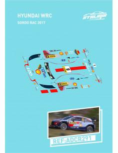 Hyundai WRC Sordo RAC 2017
