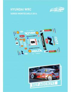 Hyundai WRC Sordo Montecarlo 2014