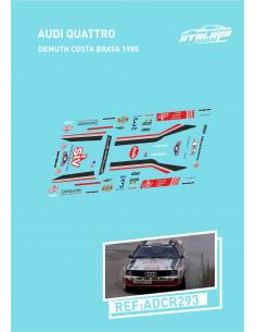 Audi Quattro Demuth Costa Brava 1985