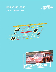 Porsche 935 Lola LeMans 1982