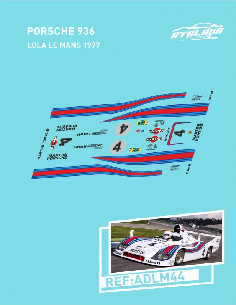 Porsche 936 LeMans 1977
