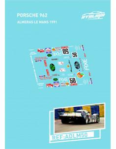 Porsche 962 Almeras LeMans 1991