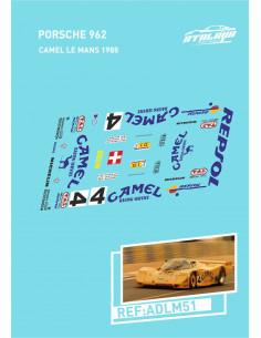Porsche 962 Camel LeMans 1988