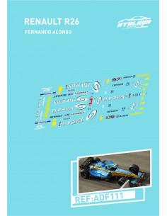 Renault R26 Fernando Alonso