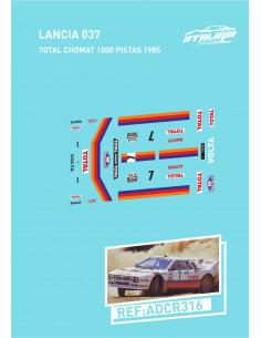Lancia 037 Total Chomat 1000 Pistas 1985