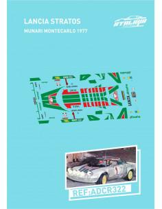 Lancia Stratos Munari Monte Carlo 1977