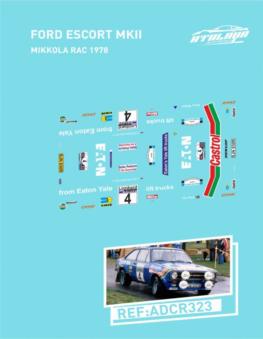 Ford Escort MKII Mikkola RAC 1978
