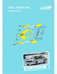 Opel Ascona 400 CERDANYA 2017