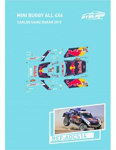 Mini Buggy All 4x4 Sainz Dakar 2019