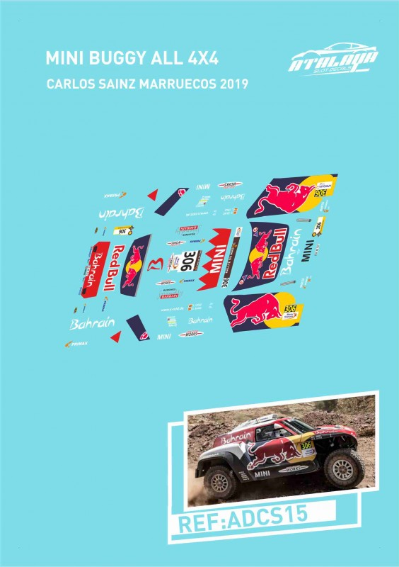Mini Buggy All 4x4 Sainz Marruecos 2019