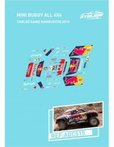 Mini Buggy All 4x4 Sainz Marruecos 2019