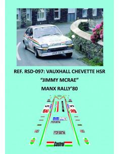 Vauxhall Chevette HSR Jimmy Mcrae