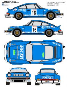 Porsche 911 Noguera Guilleries 1981