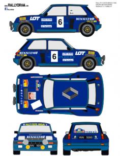 Renault 5 Turbo Krupa Costa Brava 1982