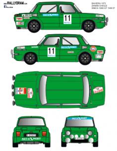 Simca 1000 Proto Zanini Baviera 1972