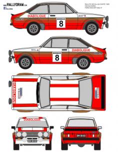 Ford Escort mk2 Cid Alicante 1980