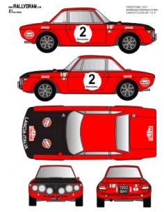 Lancia Fulvia Barbasio Firestone 1972
