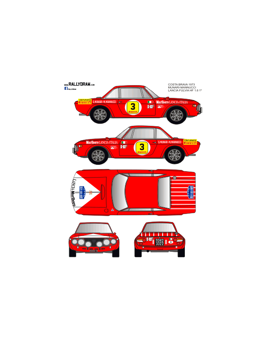 Lancia Fulvia Munari Costa Brava 1973