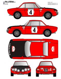Lancia Fulvia Munari Race 1971