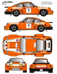 Porsche 911 RSR Etchebers Ferrol 1976