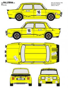 Simca 1000 Balado Pazos 1982