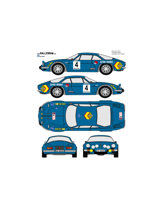 Renault Alpine A110 Pavon Fallas 1972