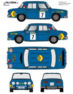 Renault 8 Villacieros Baviera 1973