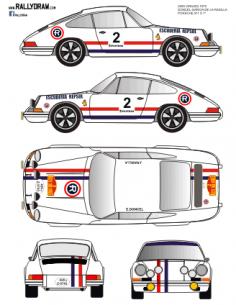 Porsche 911 Doncel 2000 virajes 70