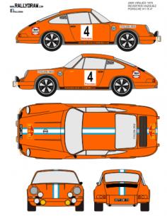 Porsche 911 Reverter 2000 virajes 70