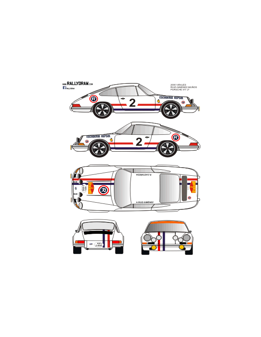 Porsche 911 Ruiz Gimenez Barcelona-Andorra 1970